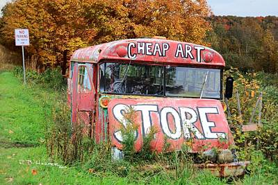 Photograph - Cheap Art by R B Harper