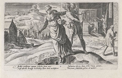 Clergy Drawing - Cheats Leading The Nation To Ruin, Print Maker Dirck by Dirck Volckertsz Coornhert And Adriaan De Weerdt And Hendrick Hondius I