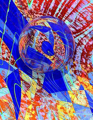 Digital Art - Check Barrels 17 by Zac AlleyWalker Lowing