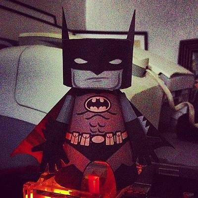Check Out My #new #mashup #batman Not Art Print