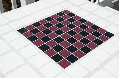 Checker Board Table Original