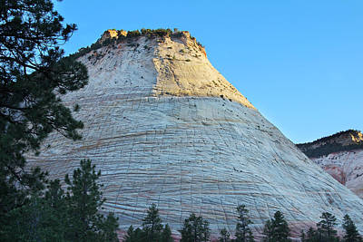 Slickrock Photograph - Checkerboard Mesa by Jemmy Archer