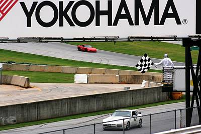 Photograph - Checkered Flag by Stacy C Bottoms