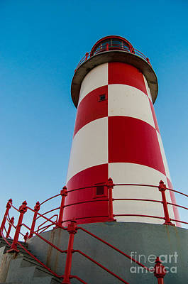 Photograph - Checkered Lighthouse by Bianca Nadeau