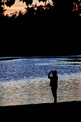 Photograph - Checking Sunset by Celso Bressan