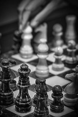 Photograph - Checkmate by James Woody