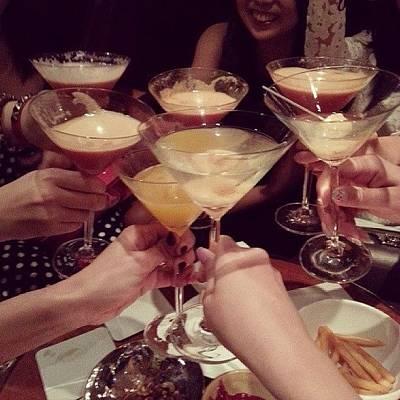 Martini Photograph - Cheeeerrrrrsssss!!! #martinis #mezza9 by Marilyn Teo