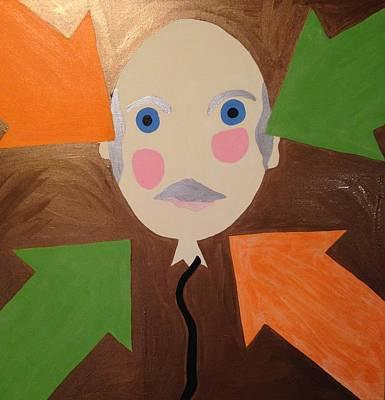 Painting - Cheeky by Erika Chamberlin