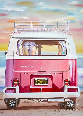 Cheeky Vw Art Print by Marco Ippaso