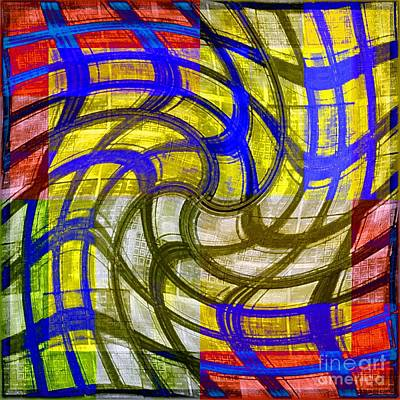 Digital Art - Cheerful Confusion by Darla Wood