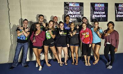 Photograph - Cheerleading Team by Dan McManus