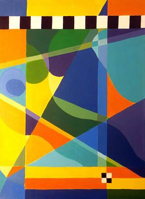 Rectangular Painting - Cheers by Karyn Robinson
