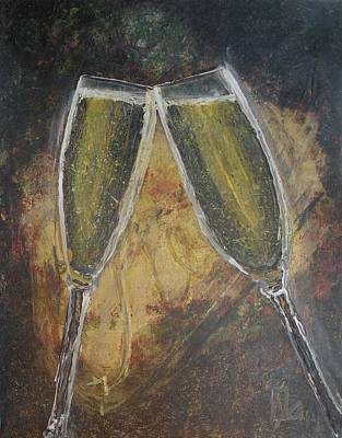 Painting - Cheers by Lee Stockwell