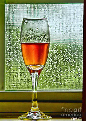 Photograph - Cheers On A Wet Day by Wanda Krack