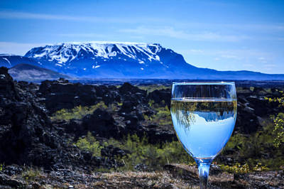 Cheers To Iceland Art Print by Peta Thames