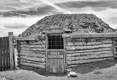 Photograph - Chee's Indian Store In B/w by Dyle   Warren