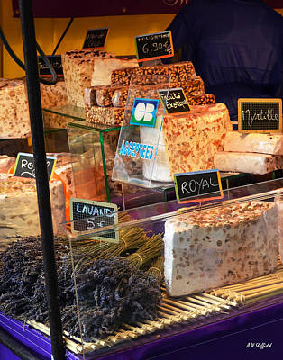 Photograph - Cheese At Paris Street Fair by Allen Sheffield