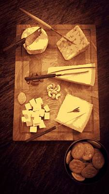 Photograph - Cheese Board by Semmick Photo