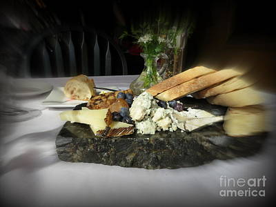 Food Photograph - Cheese Board by Tanya  Searcy