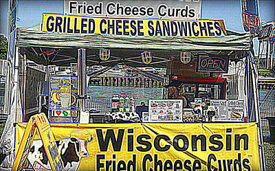 Photograph - Cheese Cheese And More Cheese by Kay Novy