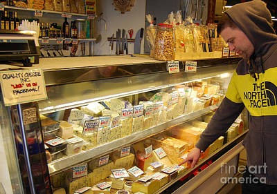 Photograph - Cheese Choices by Mark Spearman