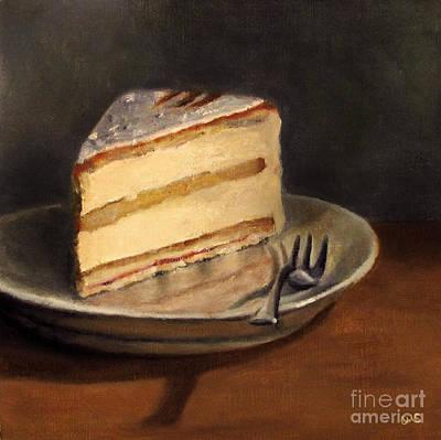 Cake Art Printer : Cheese Cream Cake Painting by Ulrike Miesen-Schuermann