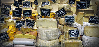 Fromage Photograph - Cheese by Dave Mills