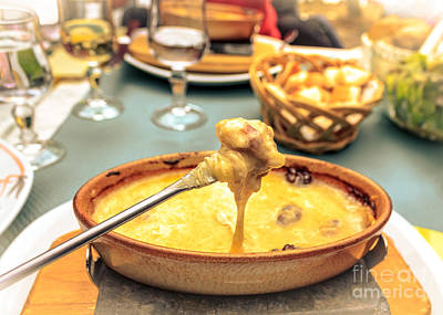 Photograph - Cheese Fondue With Friends by Silken Photography