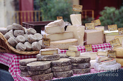 Photograph - Cheese From Provence France by Craig Lovell