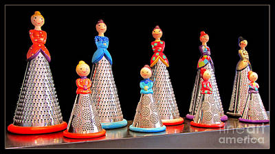 Photograph - Cheese Grating Ladies Of Nimes.france by Jennie Breeze