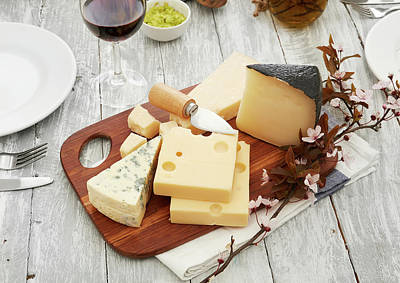 Photograph - Cheese Plate by Flyfloor