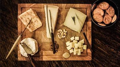 Cheese Platter Art Print