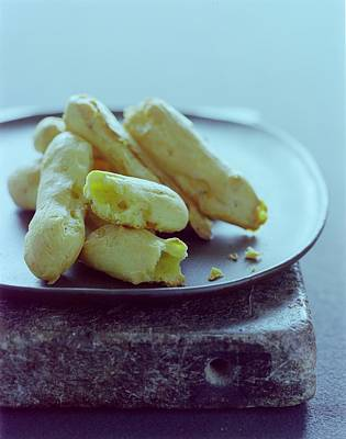 Baked Goods Photograph - Cheese Puffs by Romulo Yanes