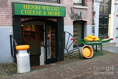 Photograph - Cheese Shop by Mary-Lee Sanders
