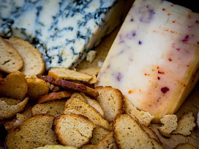 Justin Woodhouse Photograph - Cheeseboard Is Served by Kaleidoscopik Photography