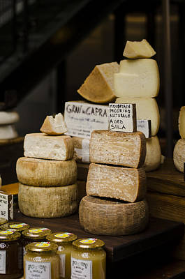 Photograph - Cheesemonger by Heather Applegate