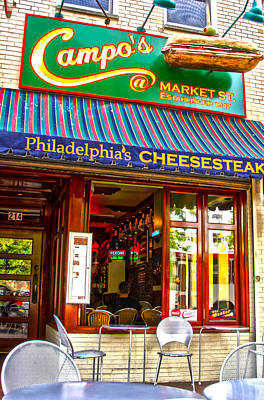 Phillie Photograph - Cheesesteak by Frank Savarese