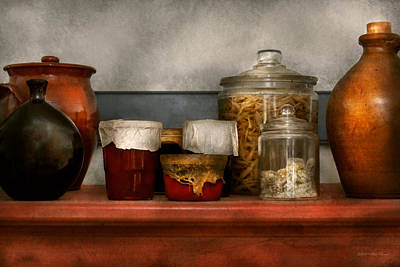 Photograph - Chef - Aunt Bessie's Mantle by Mike Savad