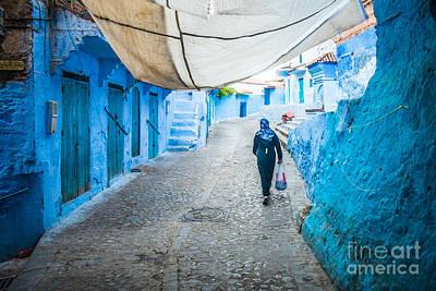 Sabino Photograph - Chefchaouen Medina by Sabino Parente