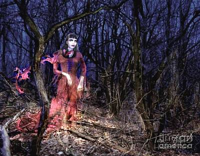 Paranormal Digital Art - Chelsea Forest by Tom Straub