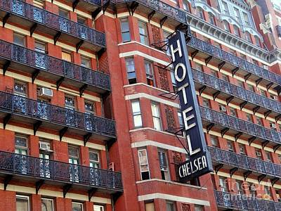 Photograph - Chelsea Hotel by Ed Weidman