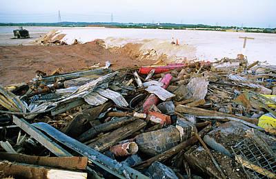 Cheshire Wall Art - Photograph - Chemical Waste Dump by Robert Brook/science Photo Library