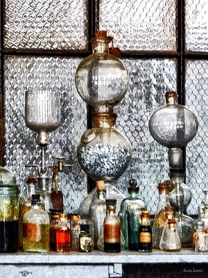 Labs Photograph - Chemist - Laboratory Glassware by Susan Savad