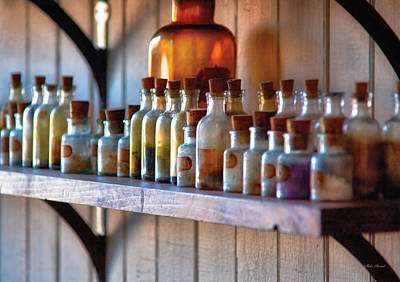 Photograph - Chemist - Magical Ingredients by Mike Savad