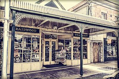 Digital Art - Chemist Shop In Braidwood by Fran Woods