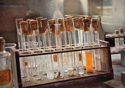 Chemist - Specimen Art Print by Mike Savad