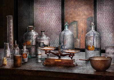 Photograph - Chemist - The Art Of Measurement by Mike Savad