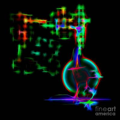 Digital Art - Chemistry by Ed Churchill