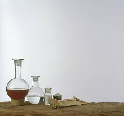 Chemistry Equipment Art Print