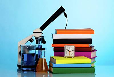 Knowledge Photograph - Chemistry Equipment by Wladimir Bulgar